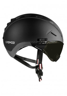 Helmet CASCO ROADSTER BLACK INCL.VISOR