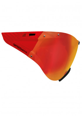 Casco Visier Speedmask Carbonic Red Multilayer