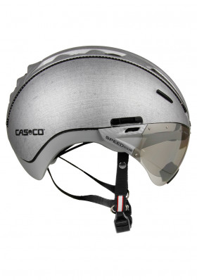 Bike helmet Casco Roadster Silver Denim + Visor