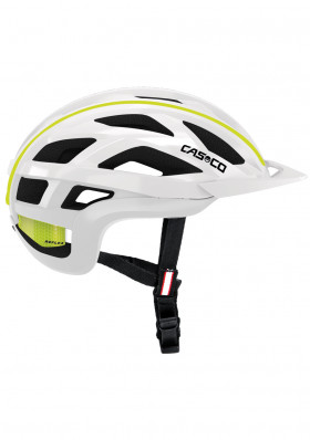 Cycling helmet Casco Cuda 2 White-neon yellow