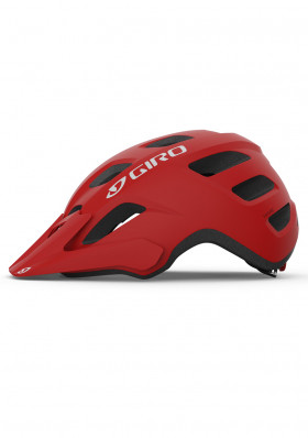 Giro Fixture Mat Trim Red cycling helmet