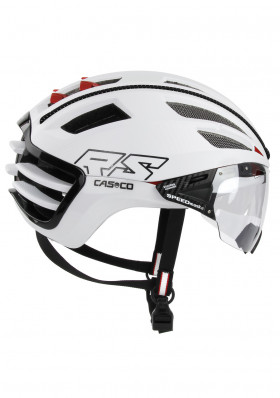 Cycling helmet Casco SPEEDairo 2 RS White /incl.Vautron visor /