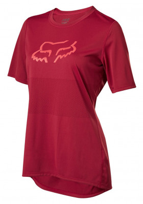 Cycling Jersey Fox Wmns Ranger Ss Jersey Chilli