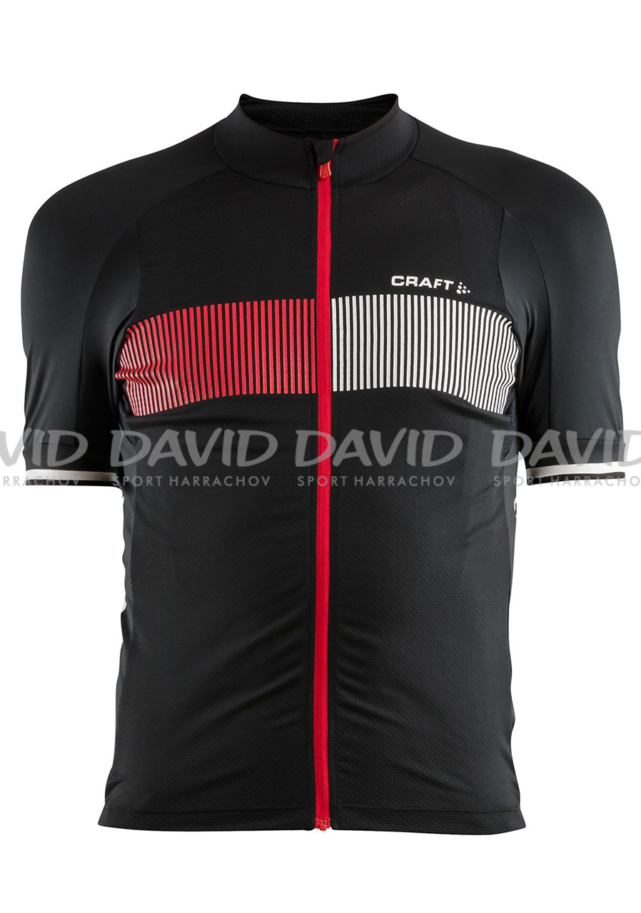 Men's bike jersey Craft Verve Glow black