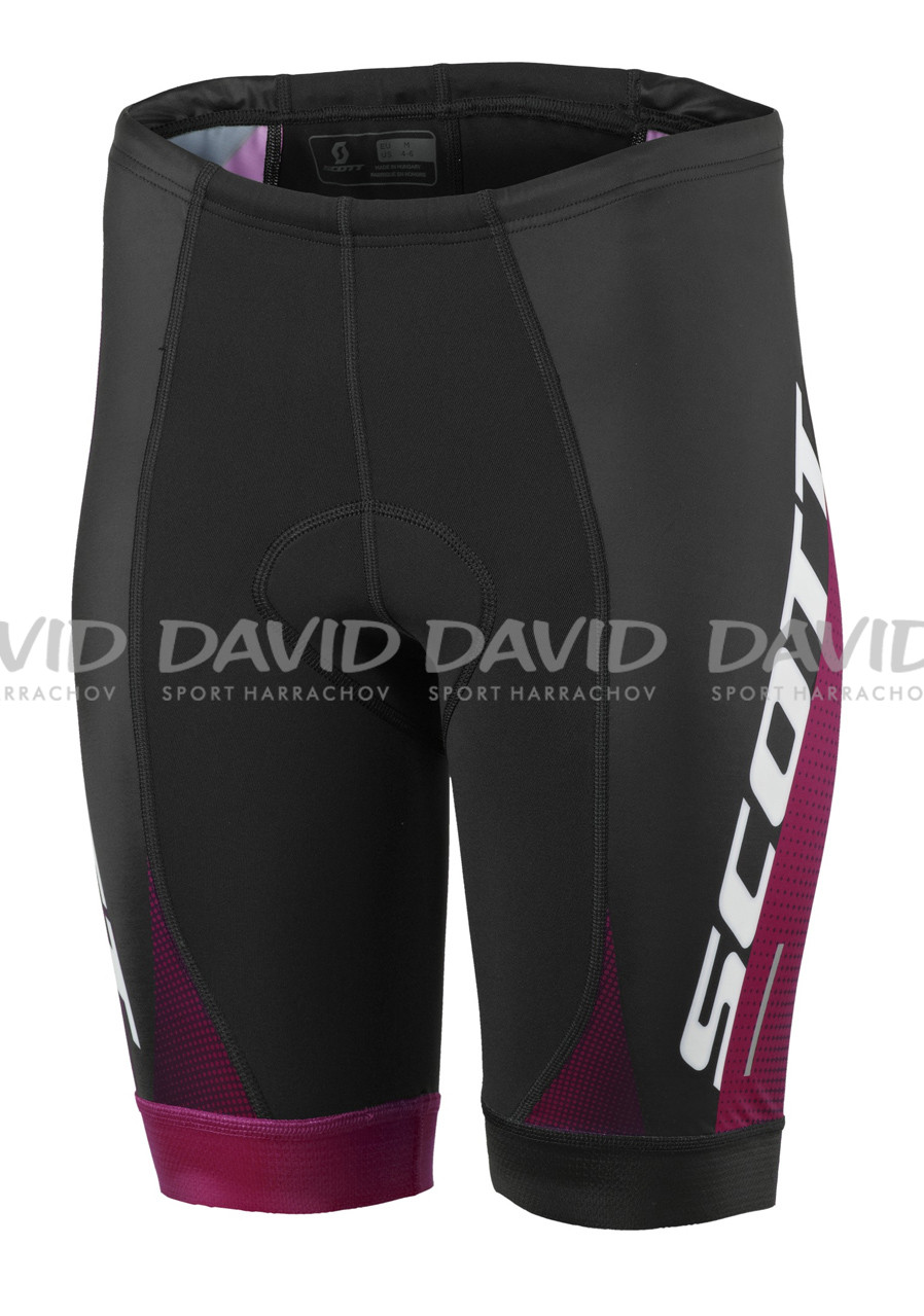 SCOTT 17 SHORTS W´s RC PRO +++ BLK/PLUM VIO
