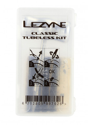 Lezyne Classic Tubeless Kit Clear