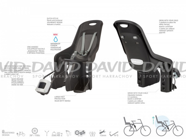 detail Bicycle seat Author Bubbly Maxi Plus FF 29