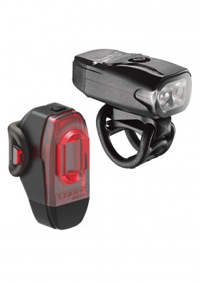 Front and rear light Lezyne LED KTV Drive Pair Black světla