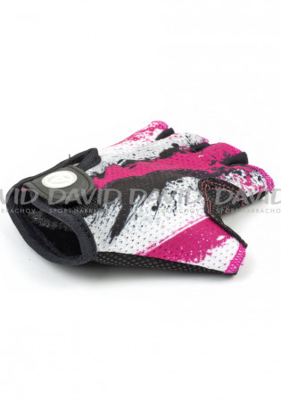 detail AUTHOR RUKAVICE JR X6 PINK/WHT