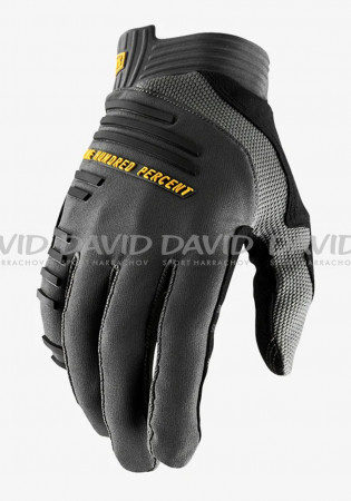 detail Cycling gloves 100% R-CORE Gloves Charcoal