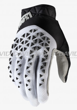 detail Cycling gloves 100% Geomatic Glove White