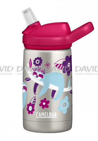 detail Children's thermo bottle CamelBak Eddy + Kids Vacuum Stainless 0.35L Pink