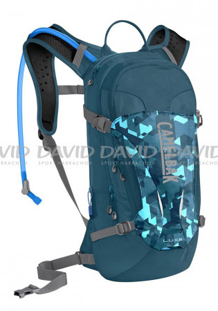 detail Camelbak Luxe Dragon Teal Backpack / Camelfage