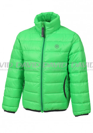 detail Children's jacket Color Kids Konne padded jacket Toucan Green