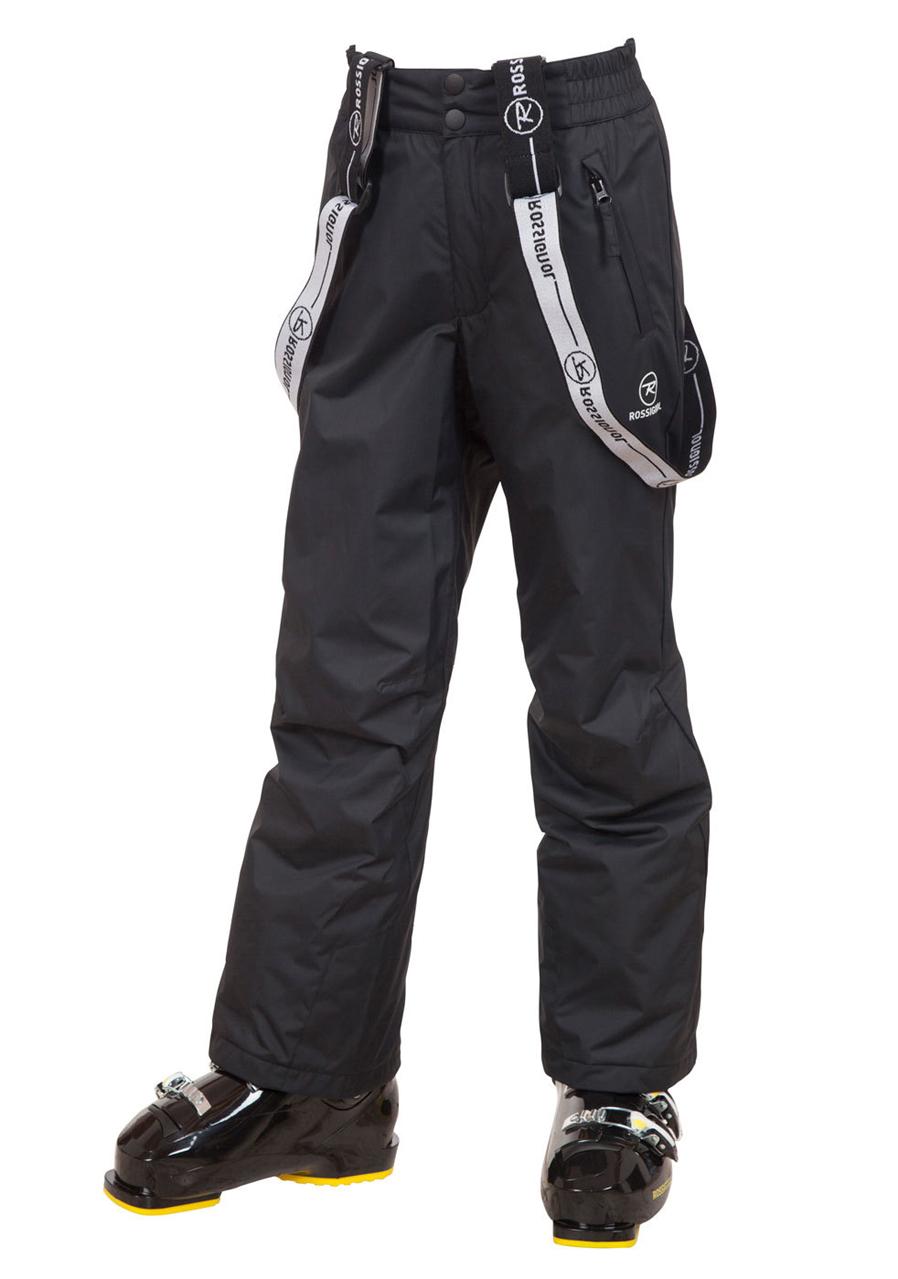 4681339be Children ski pants ROSSIGNOL 15 YOUTH PANT black | David sport Harrachov