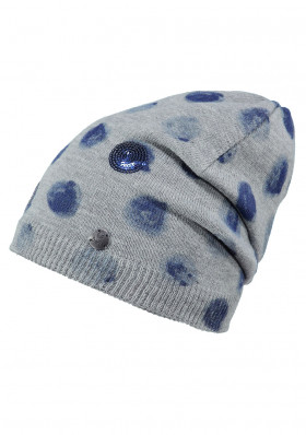 Child winter hat BARTS MASHU BEANIE HEATHER GREY