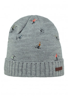 Children hat BARTS ALPIN BEANIE HEATHER GREY