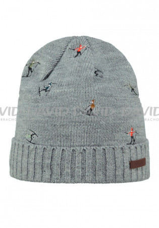 detail Children hat BARTS ALPIN BEANIE HEATHER GREY