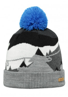 Children hat BARTS CAMDEN BEANIE HEATHER GREY