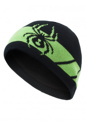 Children's hats Spyder Boy's Shelby black / green