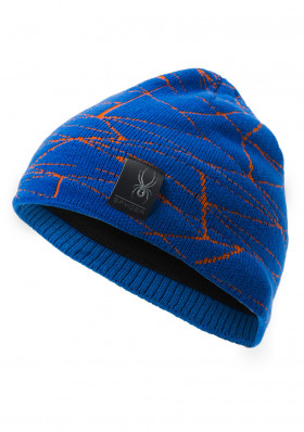 Children's hats Spyder Boy's Web Blue / Orange