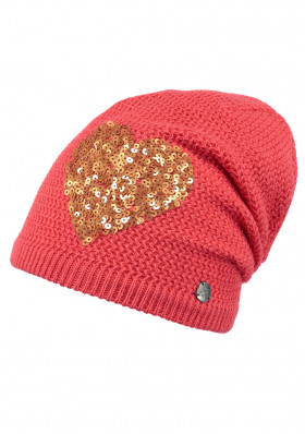 Children's hat BARTS FABLE BEANIE CORAL