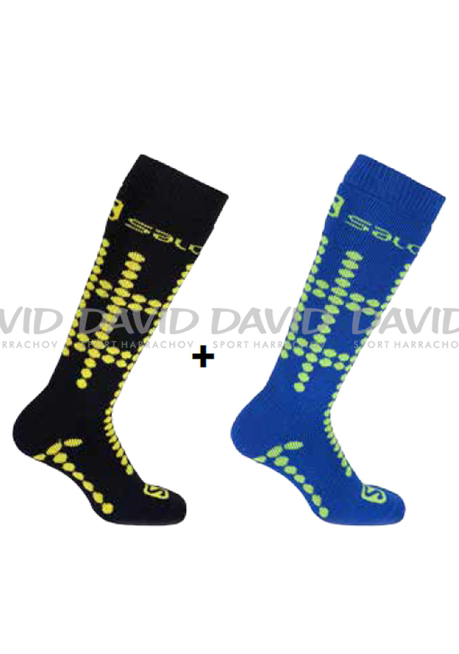 Children socks SALOMON 16 TEAM JUNIOR 2 PACK