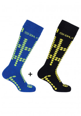 Children socks SALOMON 17 TEAM JR 2 PP