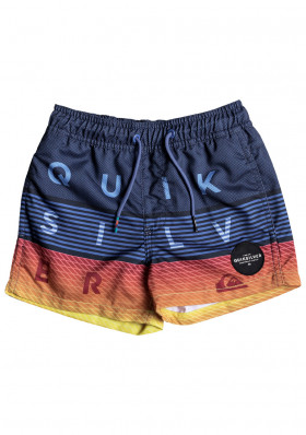 Children's shorts Quiksilver EQKJV03039 Word Block Volley Boy