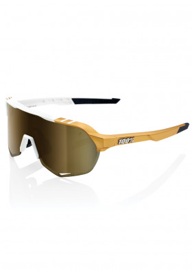 100% S2 - Peter Sagan LE White Gold - Soft Gold Mirror