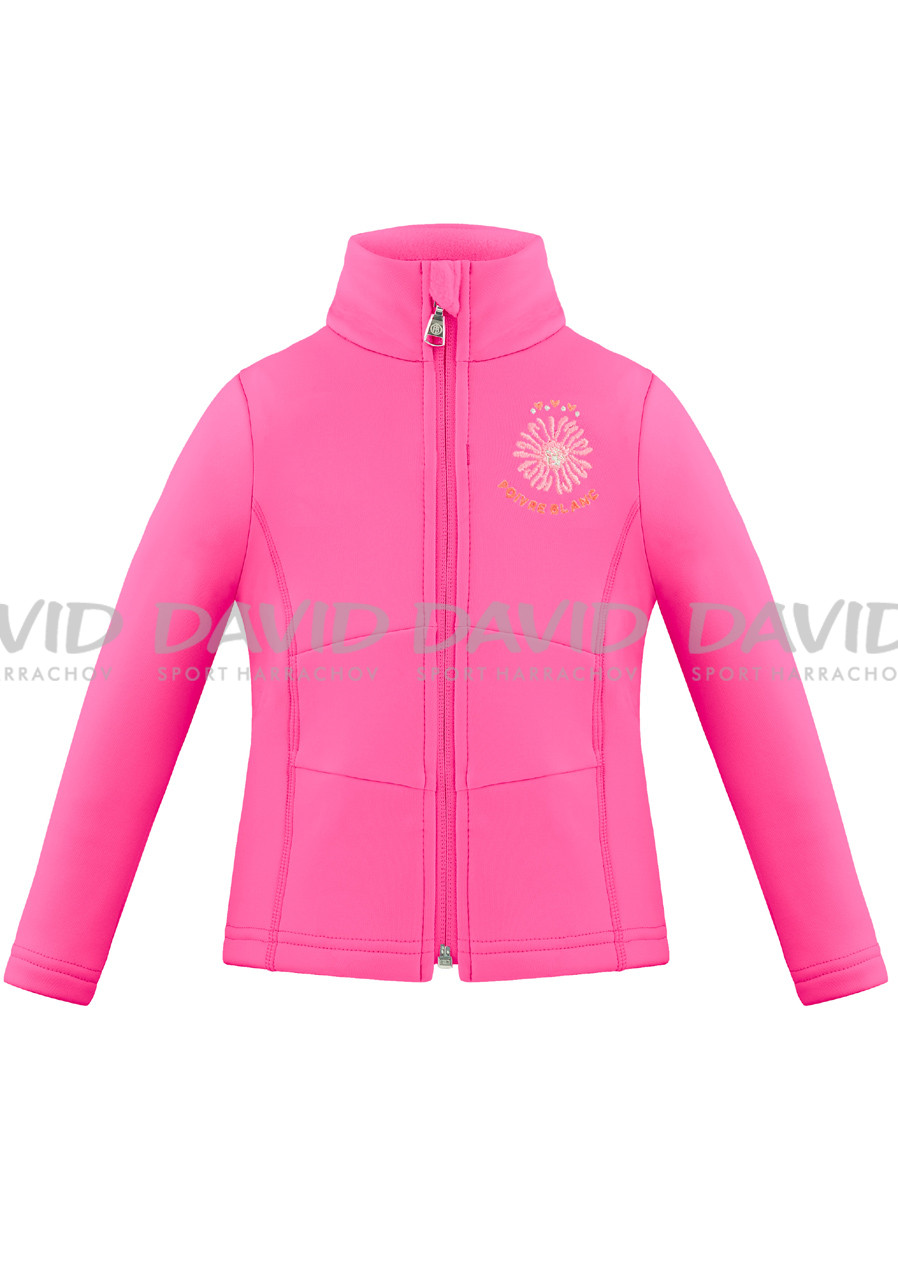 Women's sweatshirt Poivre Blanc W18-1700-BBGL Stretch Fleece Jacket ambrosia pink
