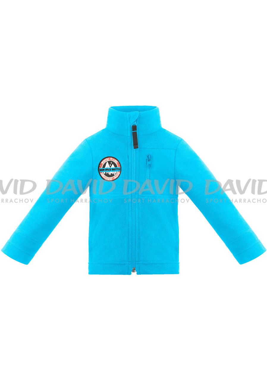 Children's sweatshirt Poivre Blanc W18-1510-BBBY Fleece Jacket vivid blue