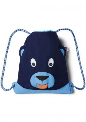Baby bag Affenzahn Kids Sportsbag Bear - blue