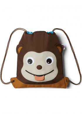 Baby bag Affenzahn Kids Sportsbag Monkey - brown