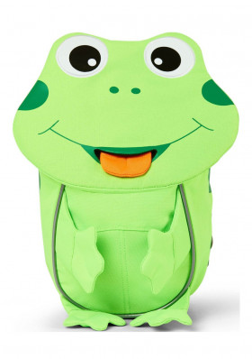 Kids backpack Affenzahn Small Friend Frog - neon green