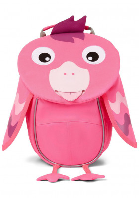 Kids backpack Affenzahn Small Friend Flamingo - neon pink