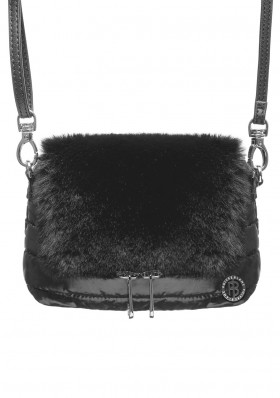 Women's Handbag Poivre Blanc W19-9096-WO Belt Bag bubbly black