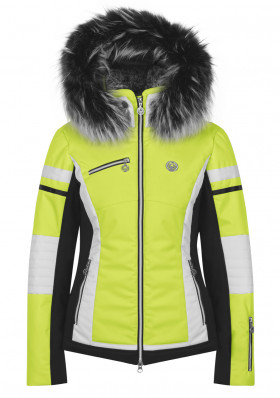 Women's jacket Sportalm Pinia Kap.K. Yellow