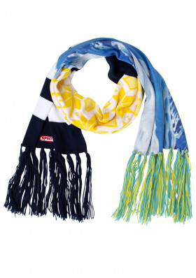 Ladies scarf Sportalm Olif yellow