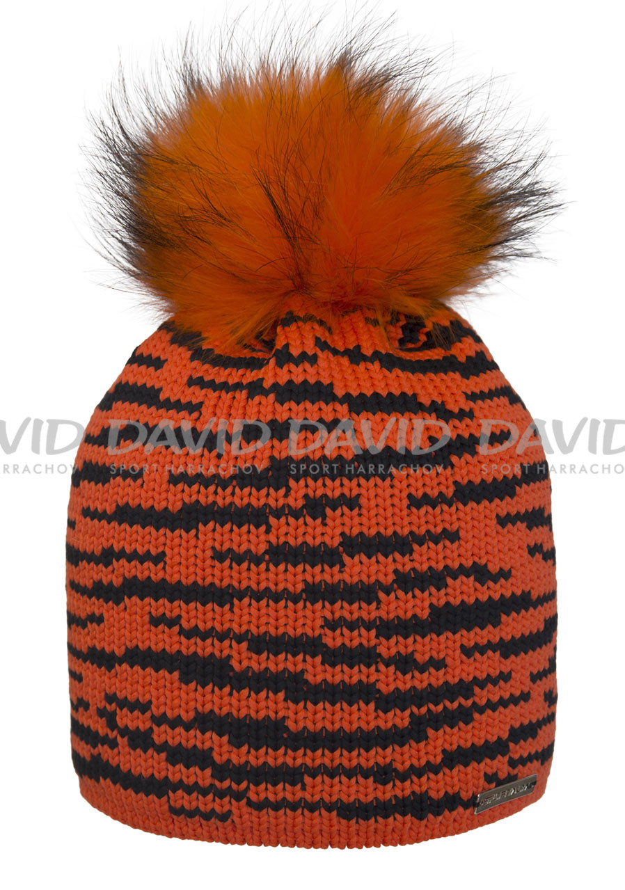 Women's beanie Sportalm Tigga orange